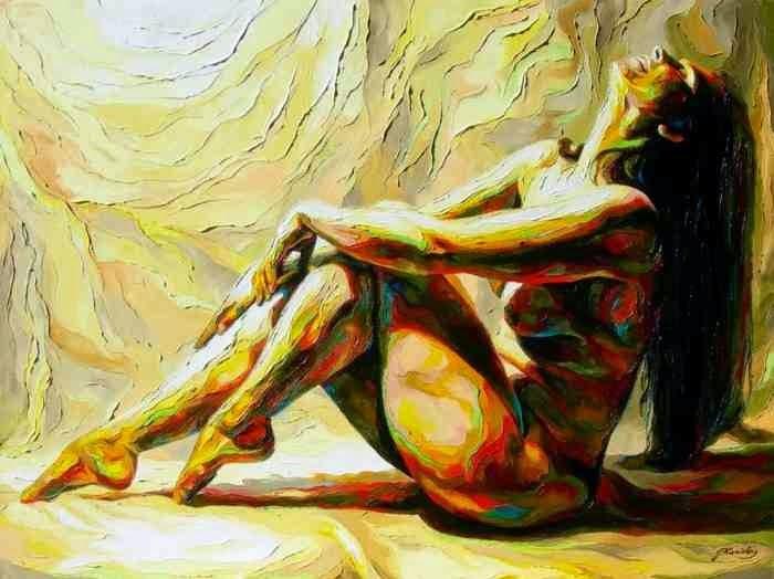 Фигуративные картины. Jonas Kunickas