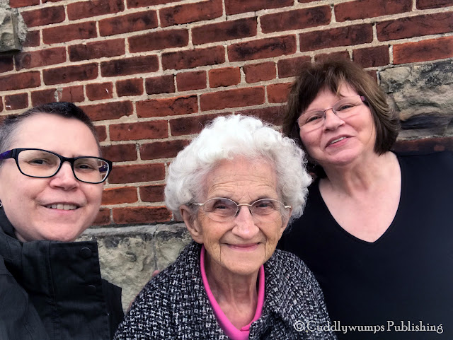 Roby Sweet with her Mom and Grandma--November 2017