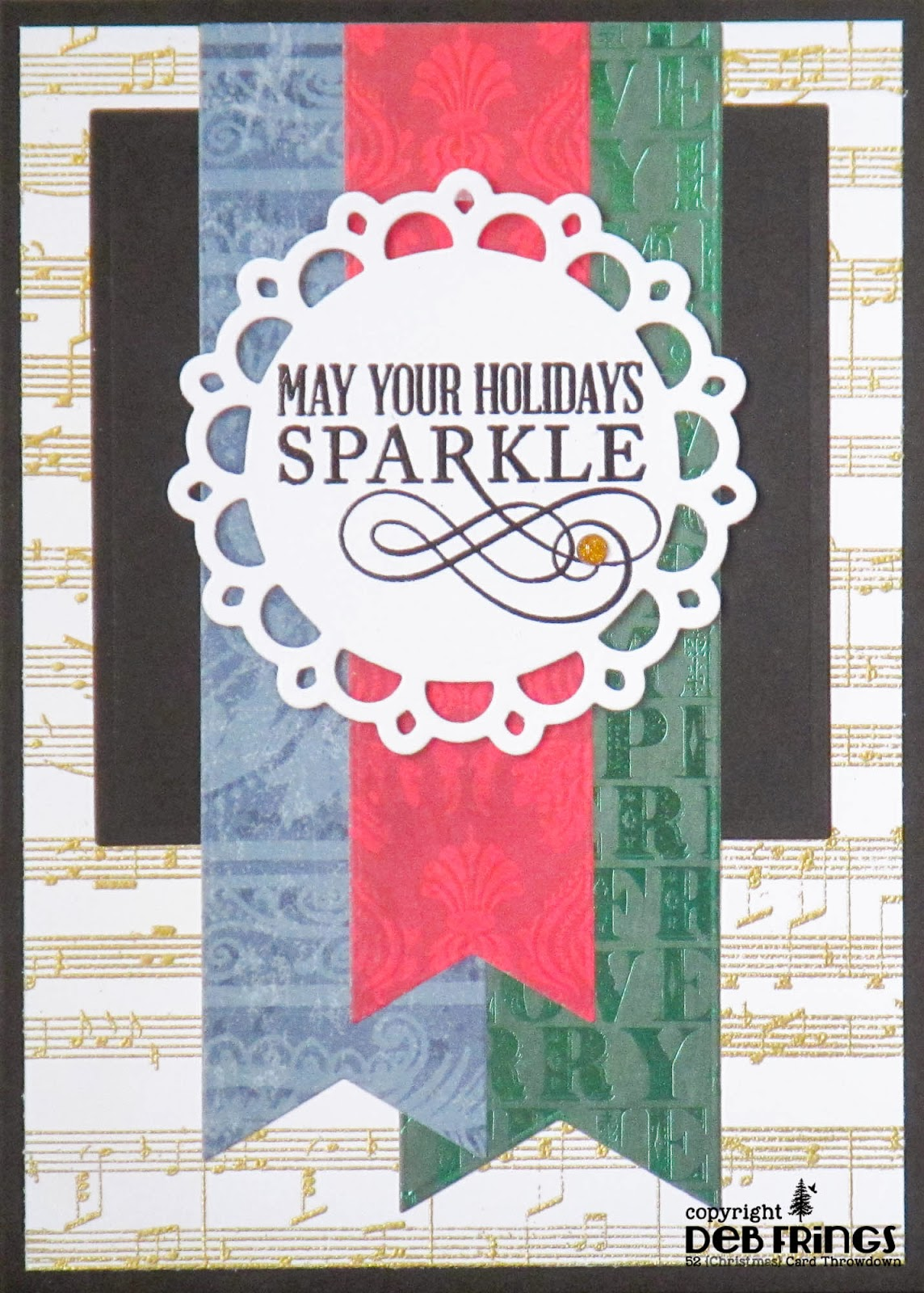 May Your Holidays Sparkle - photo by Deborah Frings - Deborah's Gems