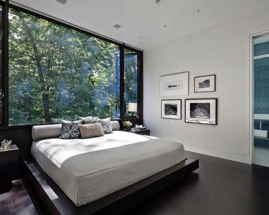 bedroom decor with modern - photo #25