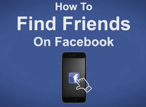 facebook login find friends