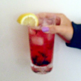Berry and Thyme gin and tonic