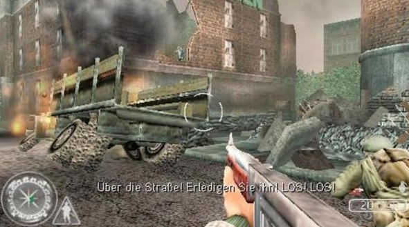 Call Of Duty Road To Victory PPSSPP ISO