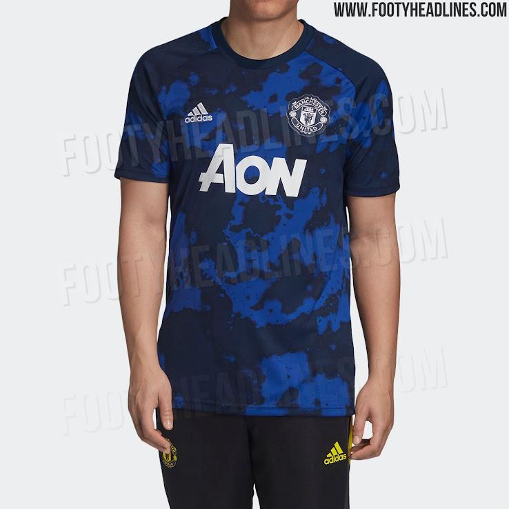53329c0d0 Garish  Adidas x Parley Manchester United 19-20 Pre-Match Shirt ...