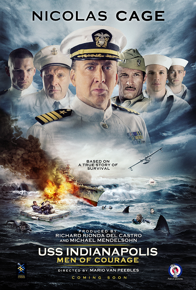 USS Indianapolis Men of Courage 2016 Full Movie Download 720p BluRay thumbnail