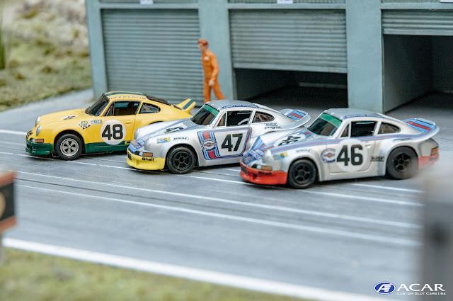 Porsche 911 RSR Martini Racing BP Sunauto Le Mans 1973