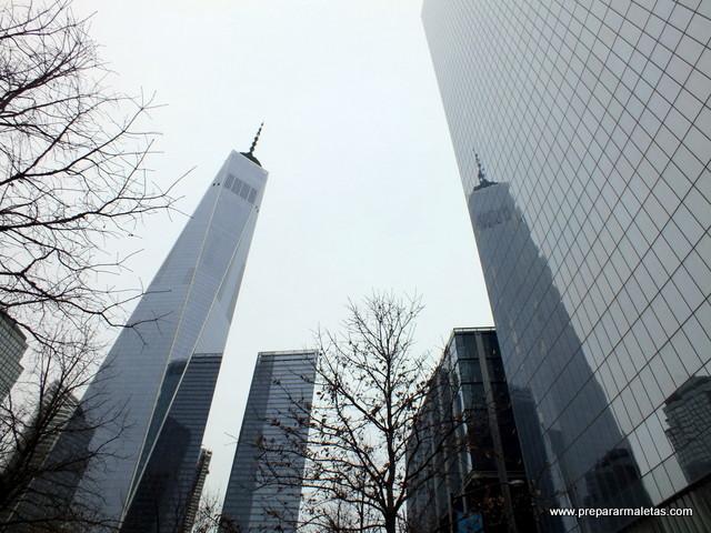 Distrito Financiero de Nueva York, itinerario