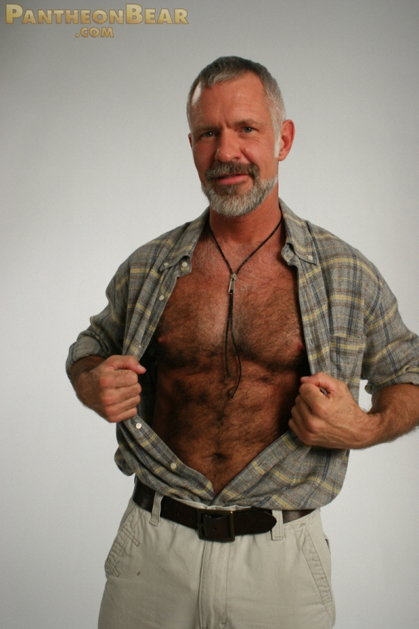 Hairy Dads Handsome Dad Allen Silver-8567