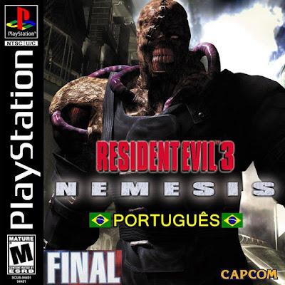 Image result for resident evil 3 legendado pt-br ps1 iso