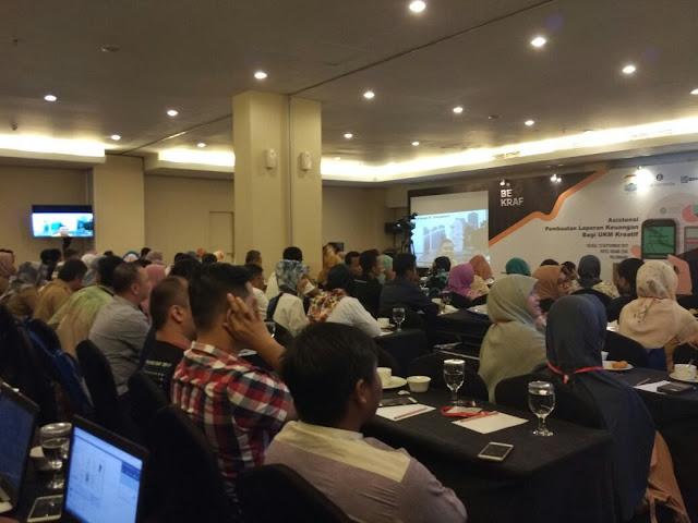Bekraf Gelar Asistensi bagi UKM Kreatif di Palembang