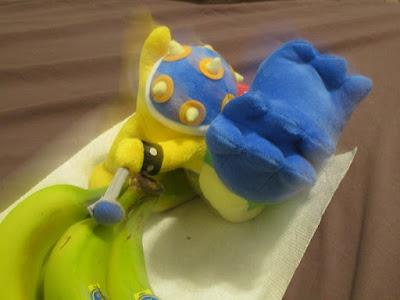 Ludwig Von Koopa tripped bananas plush plushie