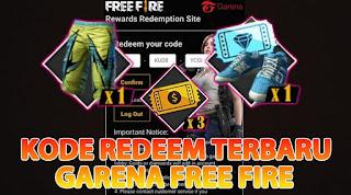Kode Redeem Free Fire Terbaru 2019 100% Work