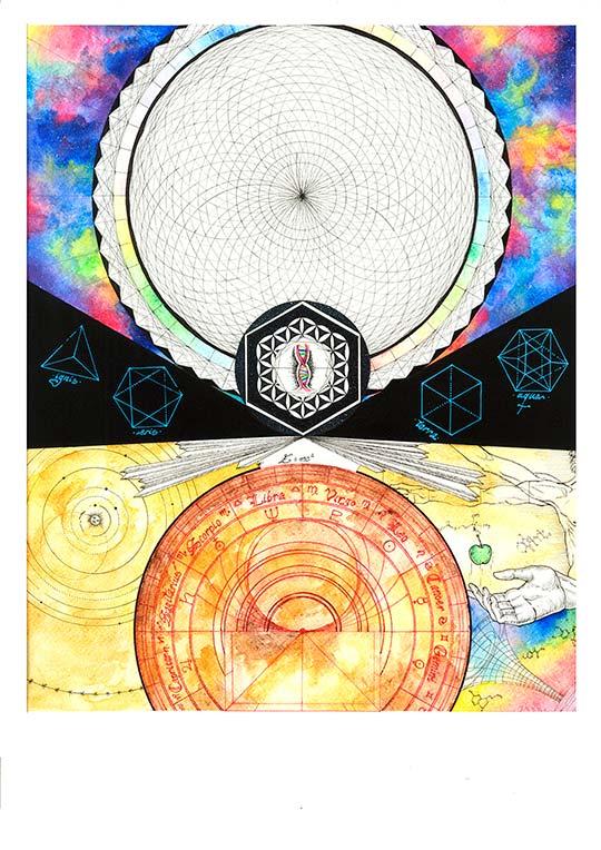 Ilustración de Miriam CX