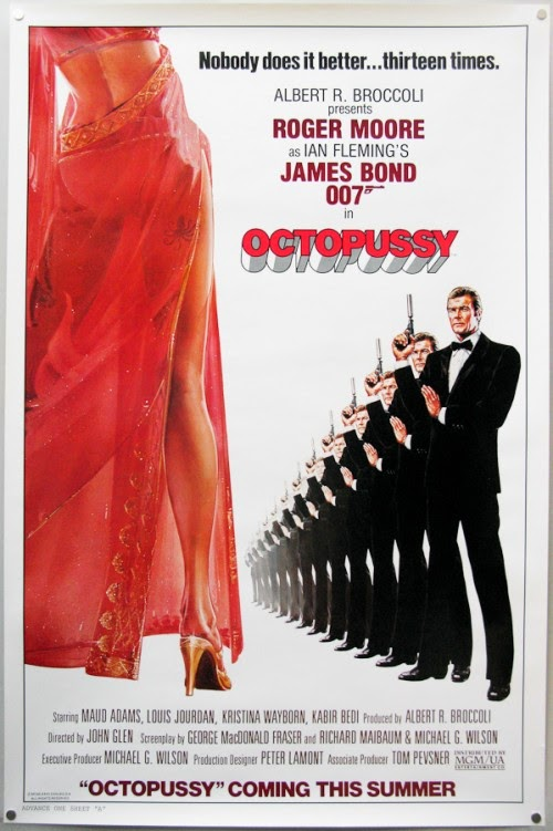 Advance Poster 007 Octopussy