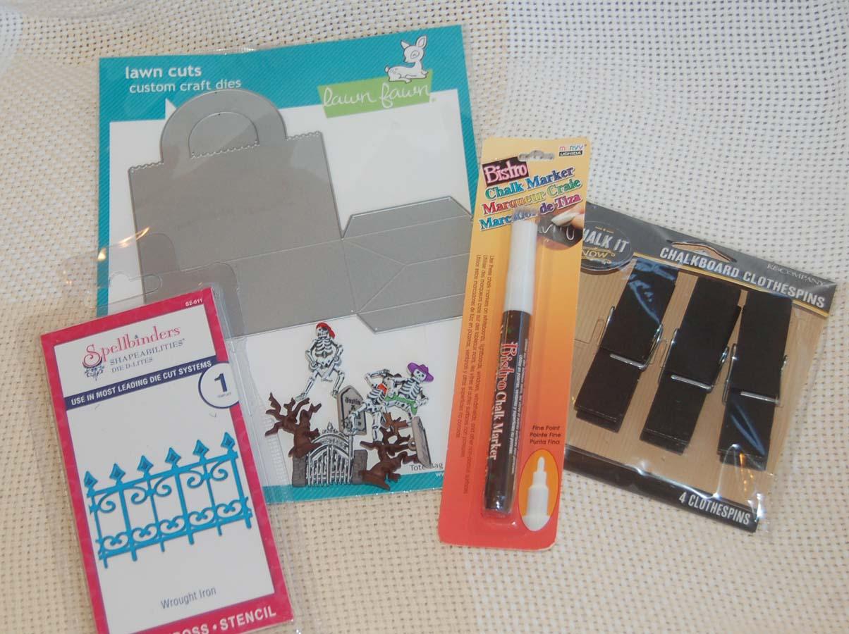 Lynn's Craft Blog: Mini Halloween Treat Basket