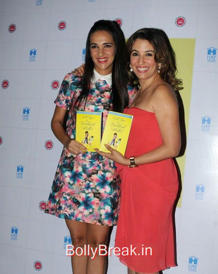 Tara Sharma, Perizaad Zorabian, Tara Sharma, Perizaad Zorabian at 'Battle Hymn of a Bewildered Mother' Book Launch