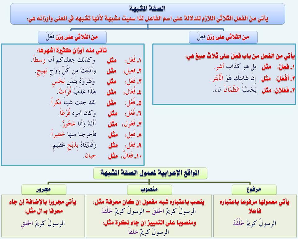 بالصور قواعد اللغة العربية للمبتدئين , تعليم قواعد اللغة العربية , شرح مختصر في قواعد اللغة العربية 55.jpg