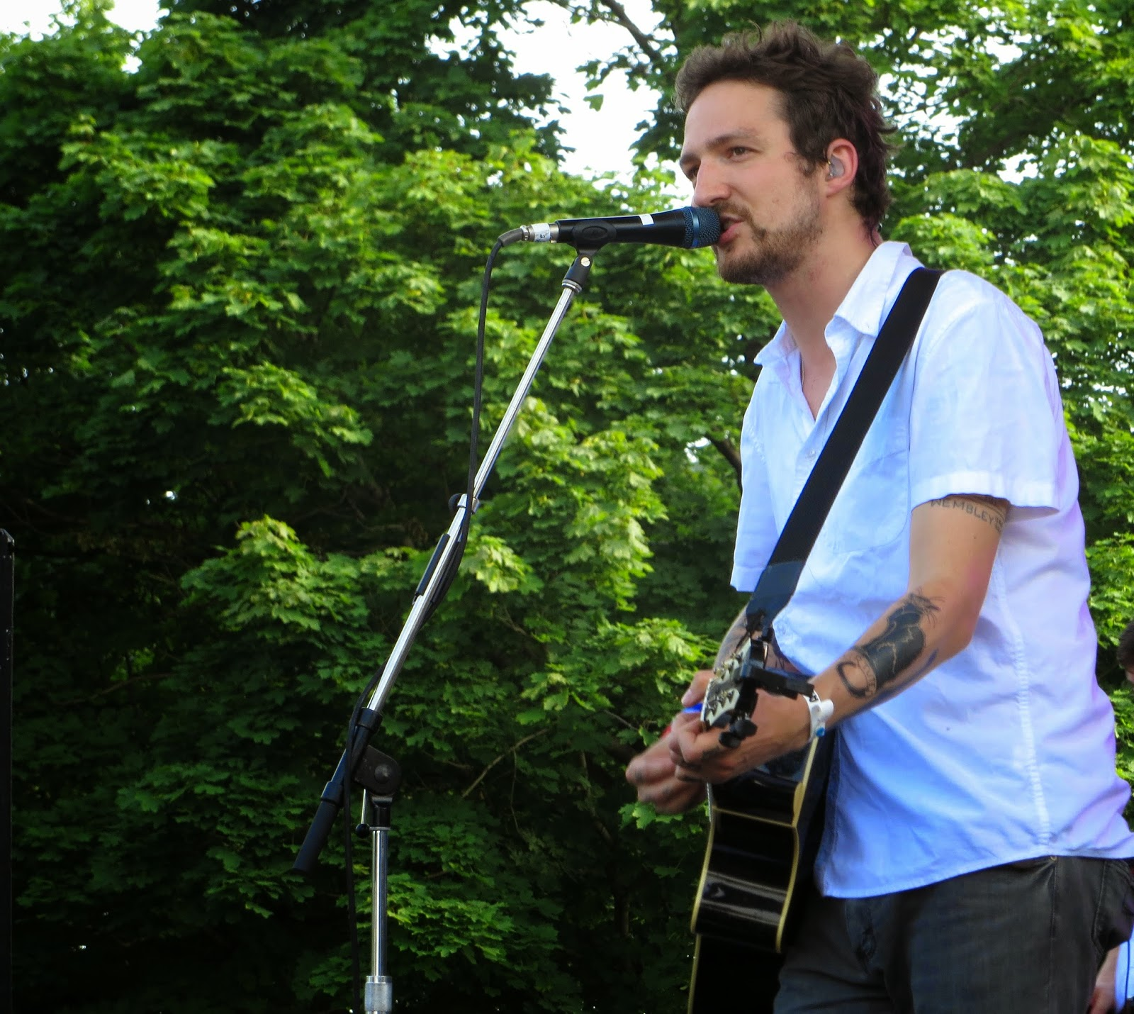 Frank Turner at TURF 2013 Photo by John at One In Ten Words oneintenwords.com toronto indie alternative music blog concert photography pictures