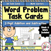 Word Problems using 2 Digit Addition and Subtraction