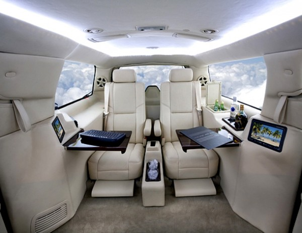 techno gadgets luxury high tech office in suv. Black Bedroom Furniture Sets. Home Design Ideas