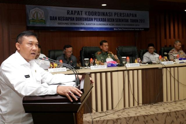 Soedarmo: Jelang Pilkada Kepala Daerah Wajib Pastikan Keamanan Tetap Terjaga