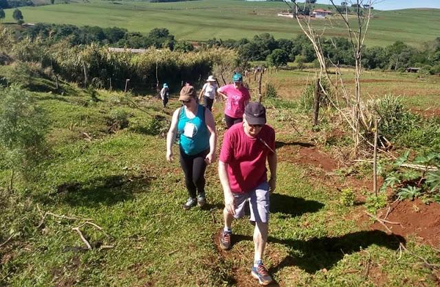 Iretama realiza Caminhada Internacional na Natureza