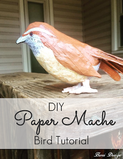 pin-how-to-make-decoupage-paper-mache-bird-diy-craft-tutorial-pattern-free