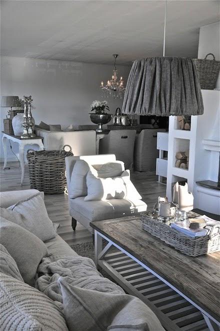 Inspiracje w moim mieszkaniu szary salon gray living room - Idee deco keuken grijs ...
