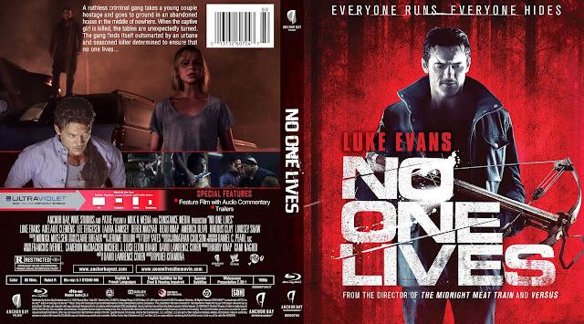 Capa Bluray No One Lives (Ninguém Sobrevive)