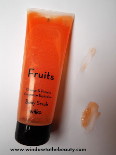 Fruits Orange & Pomelo Fragrance Explosion Body Scrub wilko