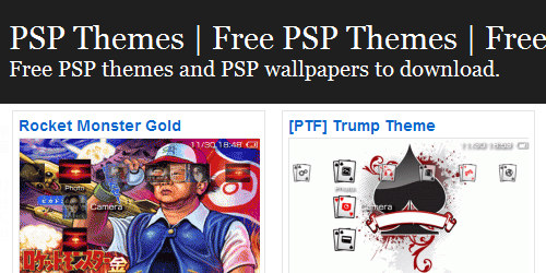 Free psp download themes for powerpoint