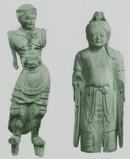 六所神社木造神像