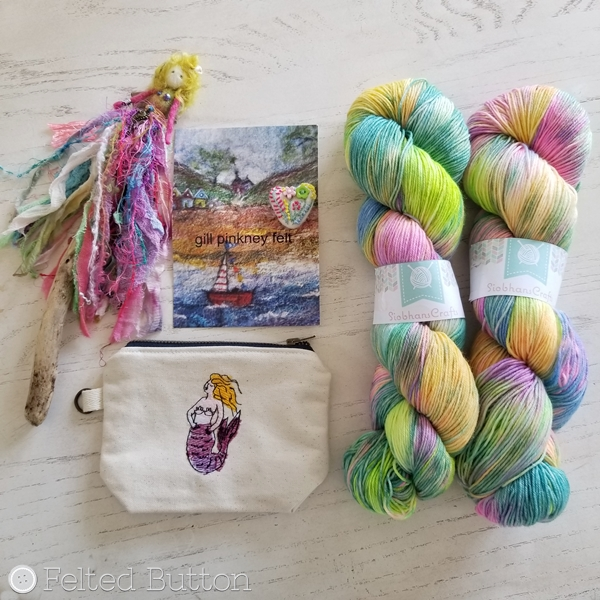 Yarndale 2018 finds from Siobhan Crafts, Gill Pinkney Felt and Fine Fish