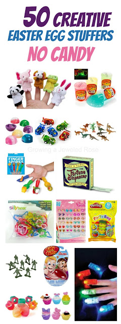50 things to hide in Easter eggs BESIDES CANDY! So many fun ideas!