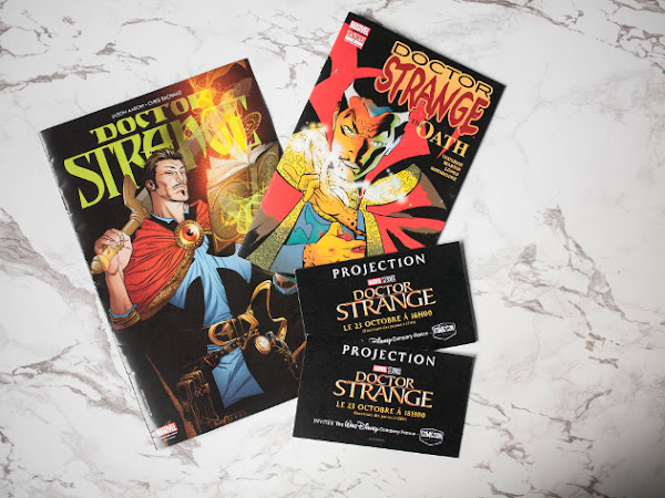 Paris, Comic Con & Dr. Strange