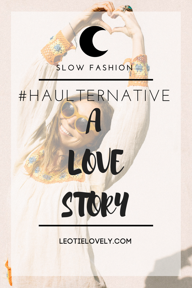 fashion revolution, #haulternative, love story, ethical, ethical fashion, eco, eco fashion, vintage, toms sunglasses, paris