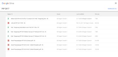 Unduh File Google Drive Shering Folder