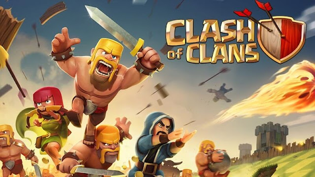 لعبة-Clash of-Clans-للآيفون