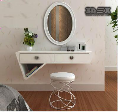 Bedroom Interiors 50 latest small dressing table designs for bedroom interiors 2018