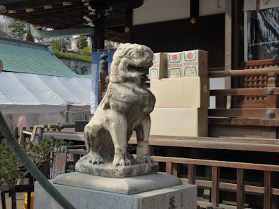 大阪天満宮・本社 狛犬