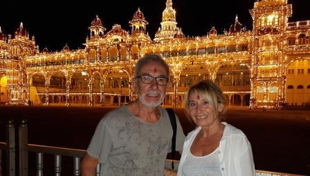 illumination palais de mysore dimanche