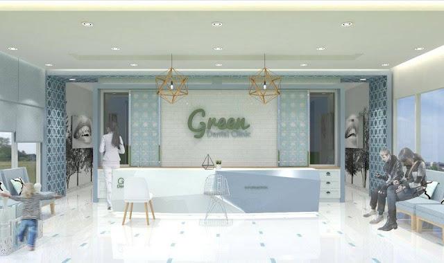 ออกแบบคลินิก Green Dental Clinic