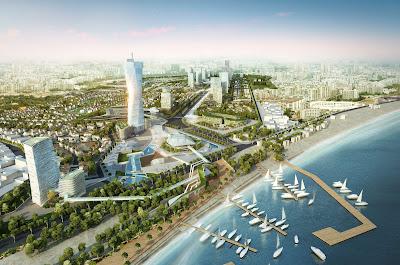 Phối cảnh tổng thể siêu dự án đất nền sân bay Nha Trang