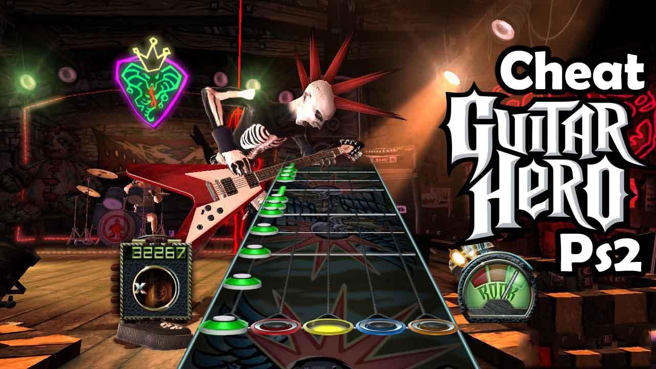 Cheat guitar hero 2 ps2