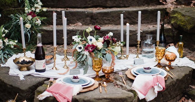 This Berry-Colored Wedding Inspiration Has Us Ready for Fall