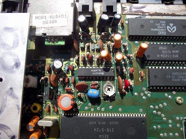 MC1377 na placa do Master System TecToy