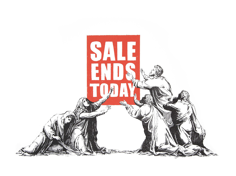 Banksy Sale End Print 2017 Edition