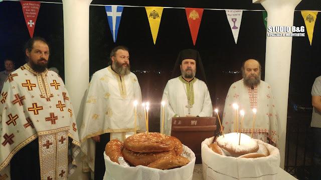 Ιερά αγρυπνία για την εορτή του Αγίου Νικοδήμου του Αγιορείτου στην Αγία Τριάδα Μιδέας