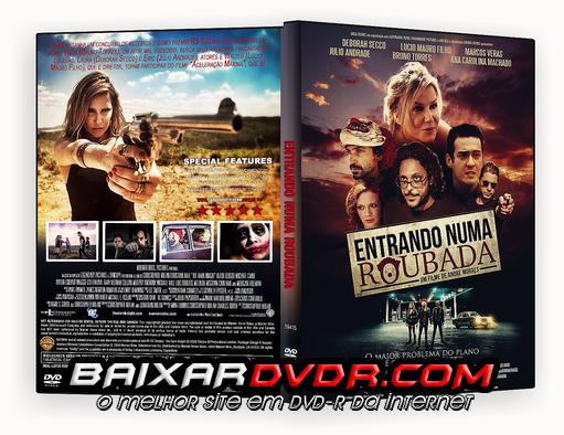 ENTRANDO NUMA ROUBADA (2015) DVD-R OFICIAL