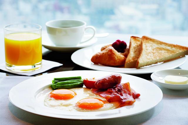Ăn sáng tại khu căn hộ Luxury Apartment